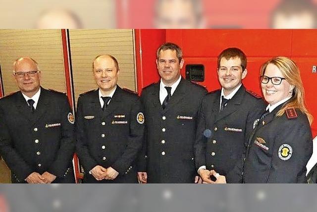 Führungswechsel bei der Feuerwehr in Minseln