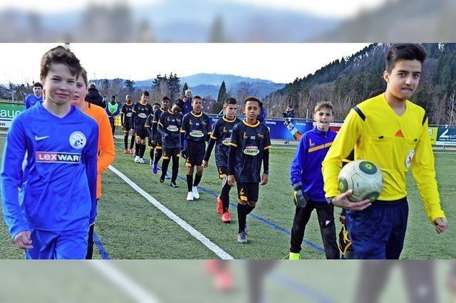 Südafrikanische Jugendfußballer zu Gast