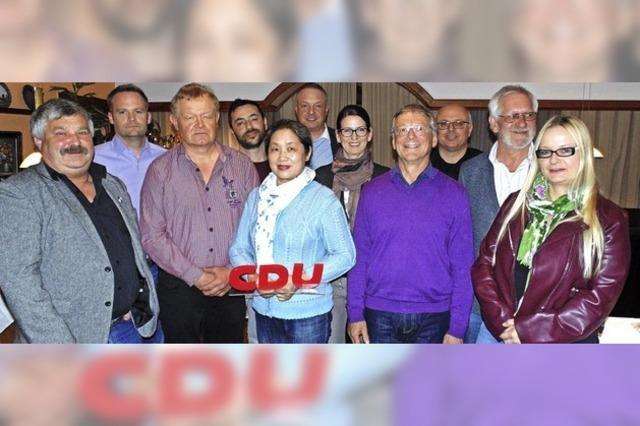 CDU stellt 14 Kandidaten in Wehr auf