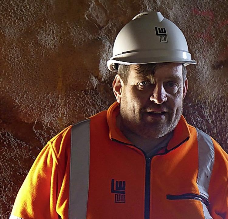 Oliver Stern, Vize-Projektleiter der Firma Leonhard Weiss  | Foto: Peter Stellmach