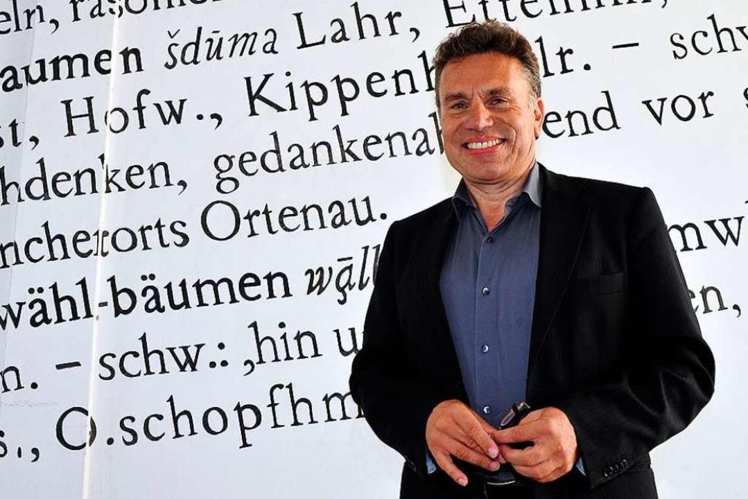 Sprachforscher Peter Auer.    Foto: Thomas Kunz