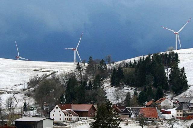Geräusche der Windräder: Gersbacher fordern Langzeitmessung