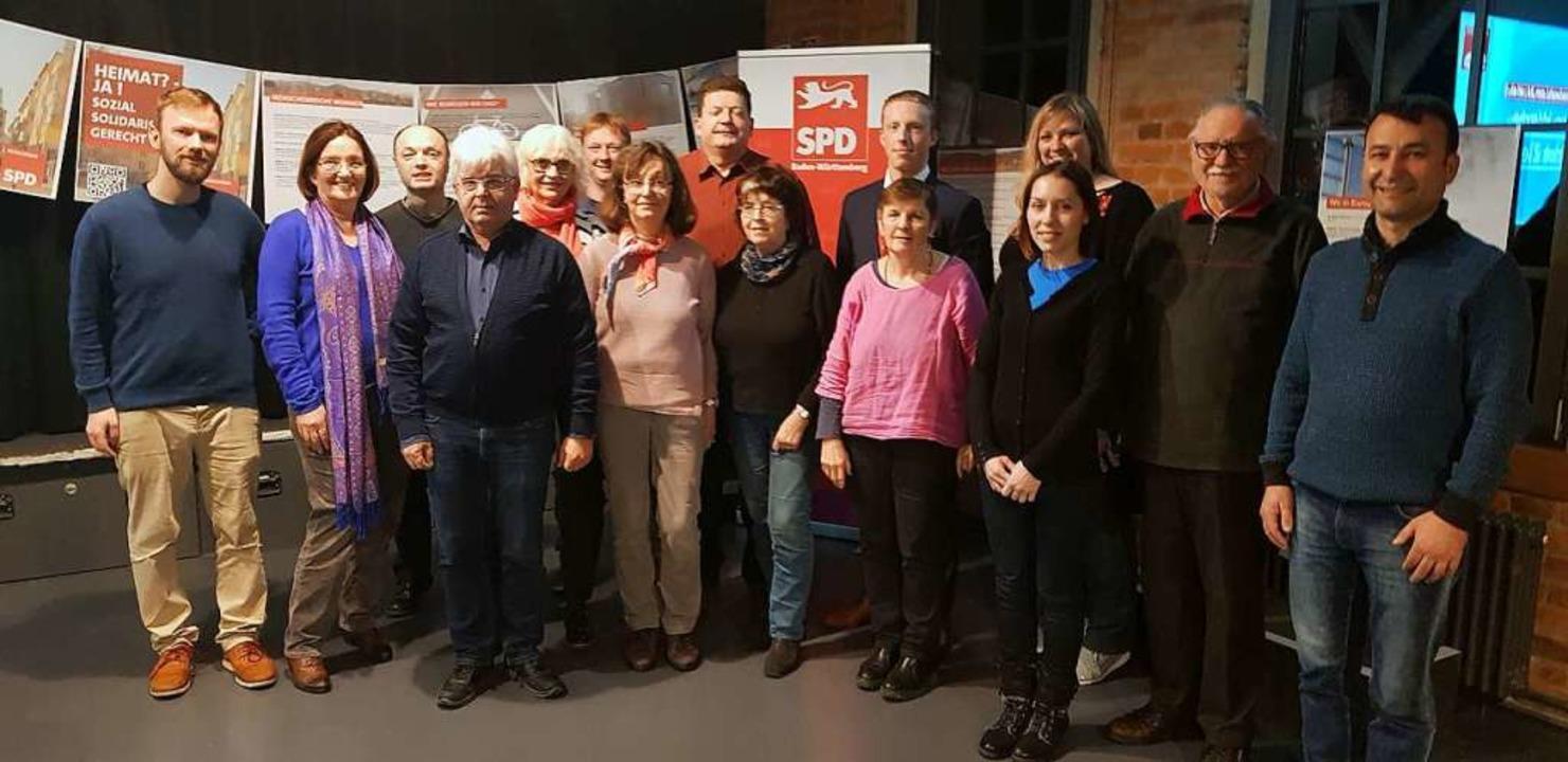 Können sich vorstellen, im Gemeinderat...en: die Kandidaten der Denzlinger SPD.  | Foto: SPD Denzlingen