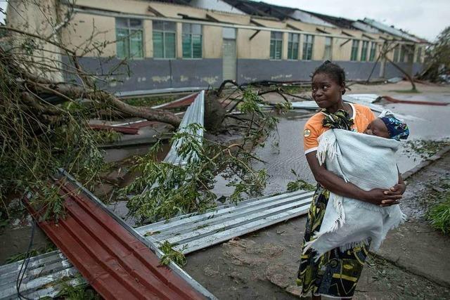 Nach dem Zyklon: Eine Caritas-Helferin erklärt, wie schlimm die Lage in Mosambik ist