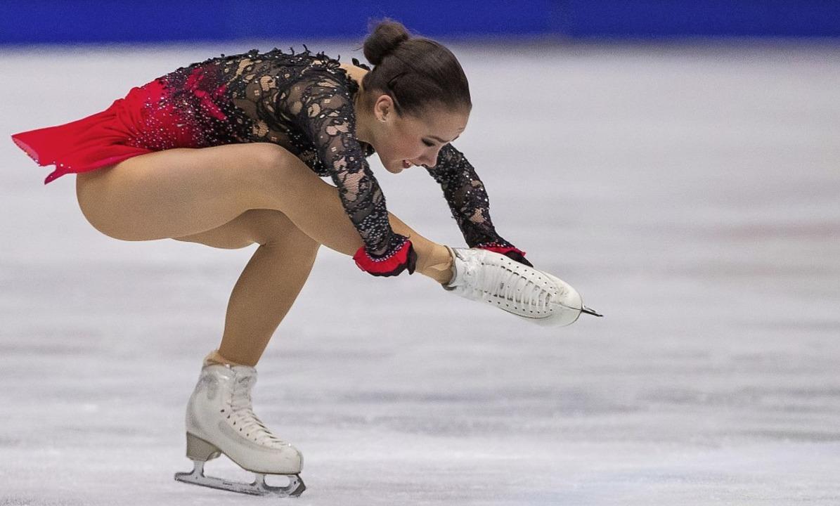 16 Jahre alt und bereits Weltmeisterin...meisterin : die Russin Alina Sagitowa   | Foto: dpa
