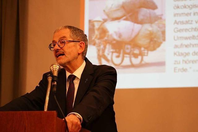 Caritas-Präsident Neher spricht in Kirchzarten über Gerechtigkeit