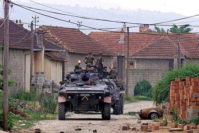 Als im Kosovo die Dörfer brannten