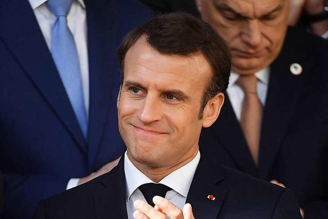 Macron setzt auf Härte gegen die Gelbwesten