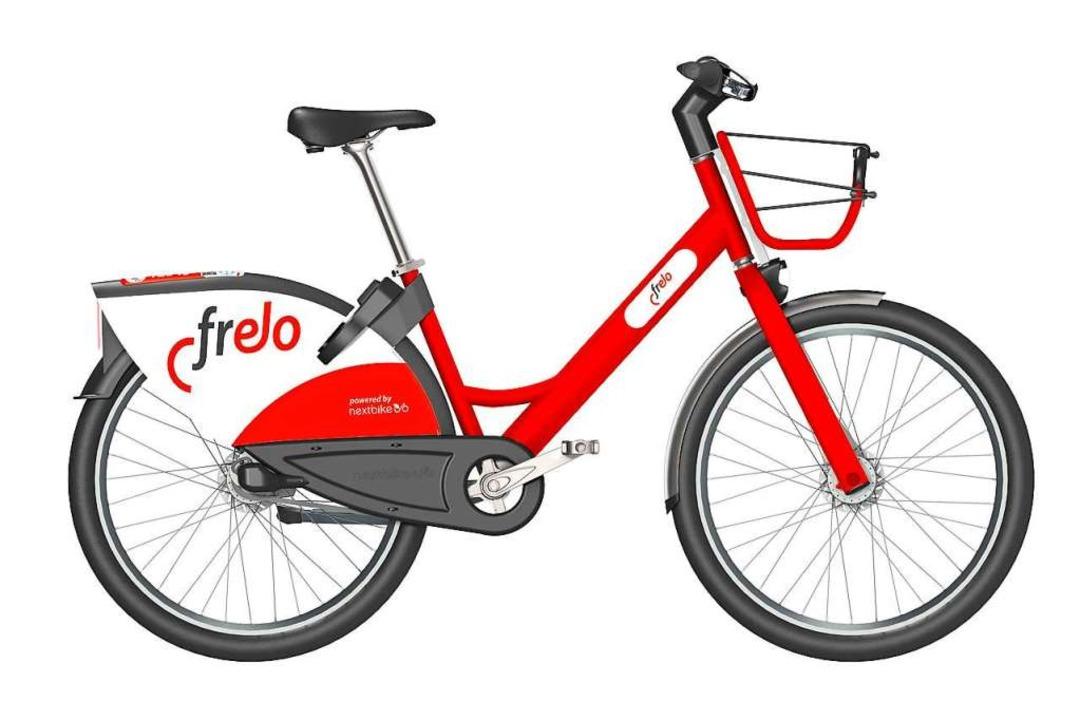 Bald bekommt Freiburg mit dem  Frelo einen neuen Leihrad-Verleih.  | Foto: Hersteller