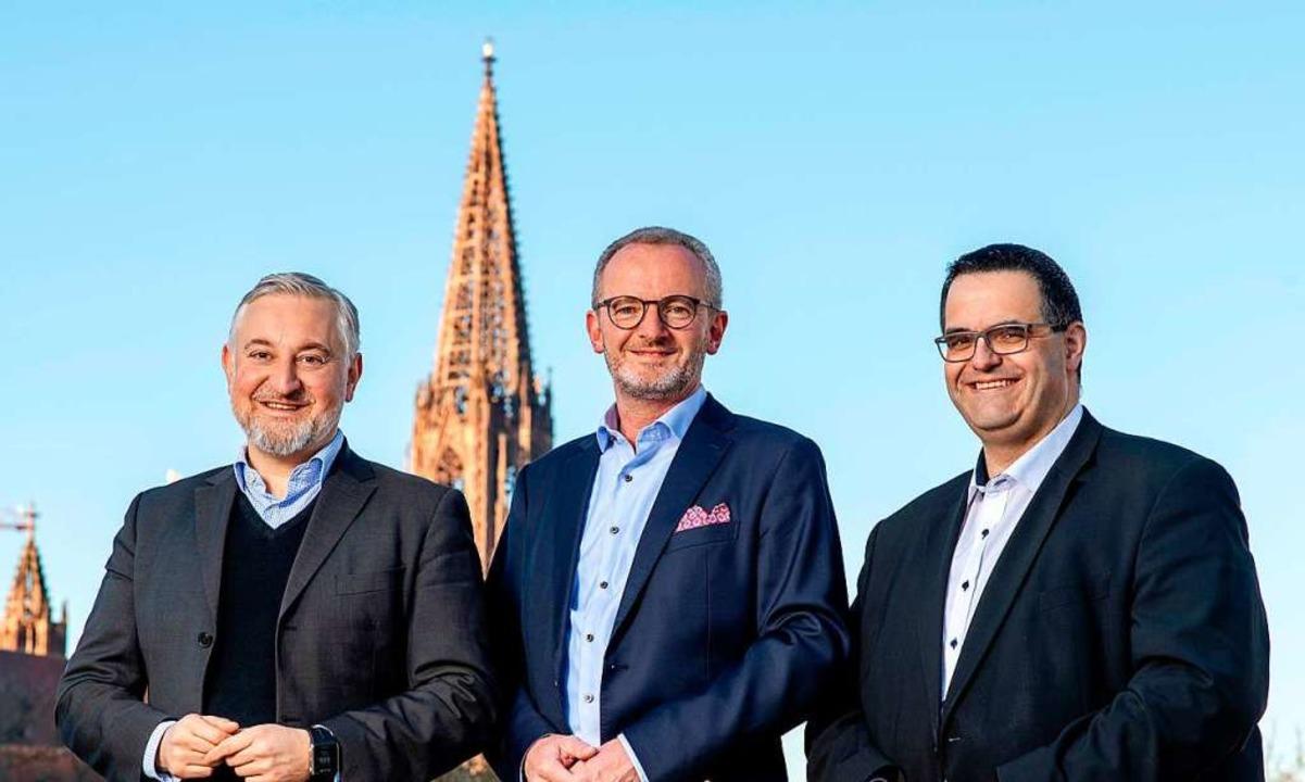 Die Spitzenkandidaten der Bürger für Freiburg  | Foto: privat