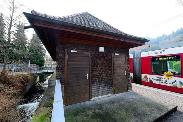 Günterstal bekommt wieder eine öffentliche Toilette