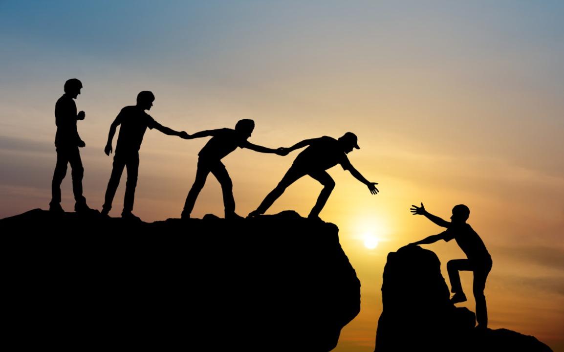 Vertrauen – ein wichtiger Faktor für ein gutes Team.   | Foto: Love the wind – stock.adobe.com