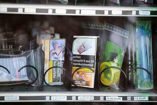 In Trier gibt es jetzt einen Automaten mit legalen Cannabis-Produkten