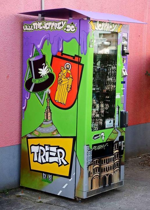 Cannabis-to-go in Trier.  | Foto: dpa