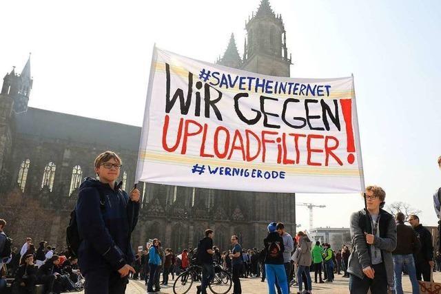 Europaweit protestieren Tausende gegen EU-Urheberrechtsreform