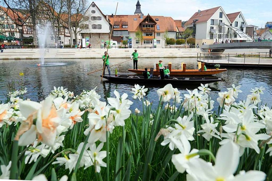 Das Bild zeigt Nagold. Die Stadt hat s...artenschau 2012 für 13 Millionen Euro.    Foto: dpa