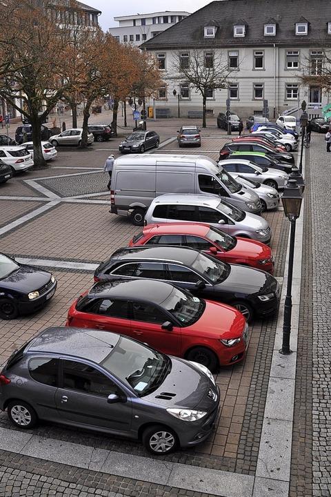 Blick aus dem Bürgermeisterbüro: Ob de...zentralen Fragen der Stadtentwicklung.    Foto: Nicolai Kapitz