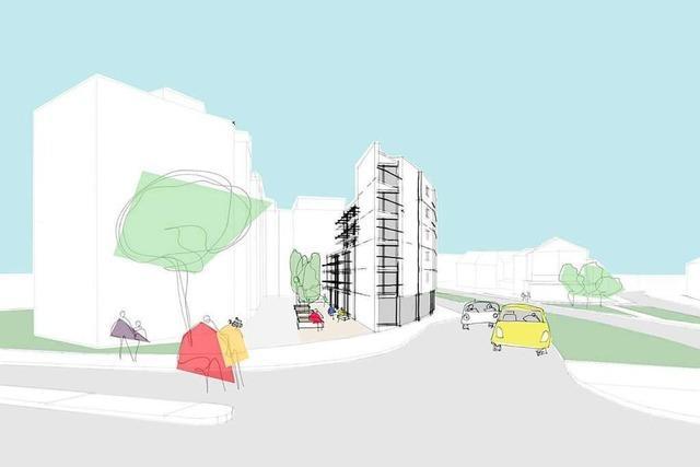 Gestaltungsbeirat diskutiert über Entwürfe für Neubau am Basler Tor