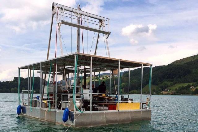 Bohrungen im Bodensee sollen Erkenntnisse zum Klimawandel liefern