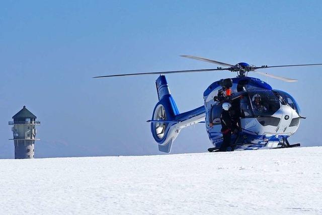 Lawinenabgang: Bergwacht trainiert den Ernstfall im Zastler Loch