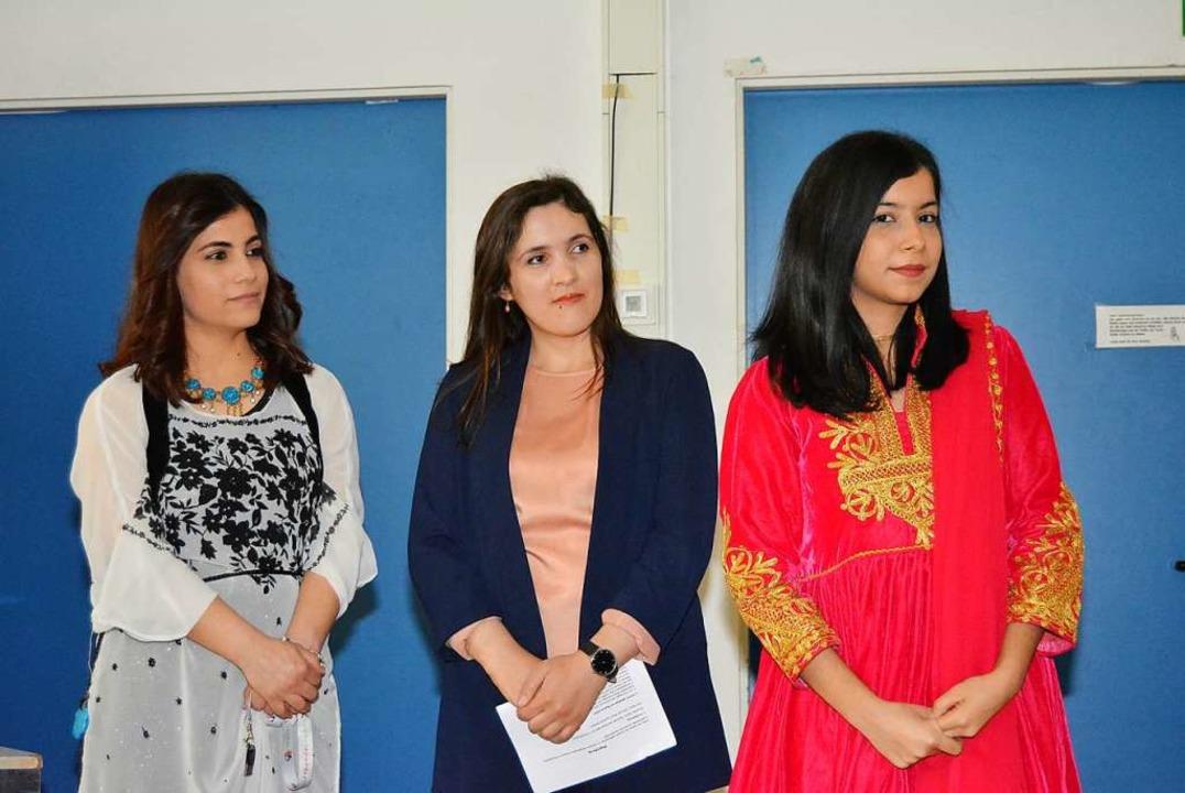 Die Organisatorinnen des ersten persis...ik und Fereshta Kohistani (von links).  | Foto: Danielle Hirschberger