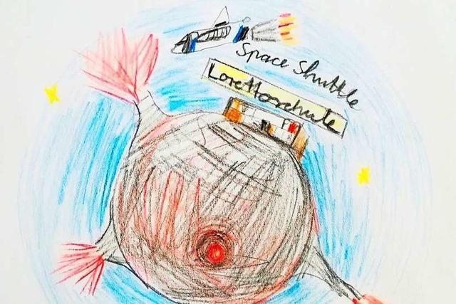 Space Shuttle anstatt Schulbus