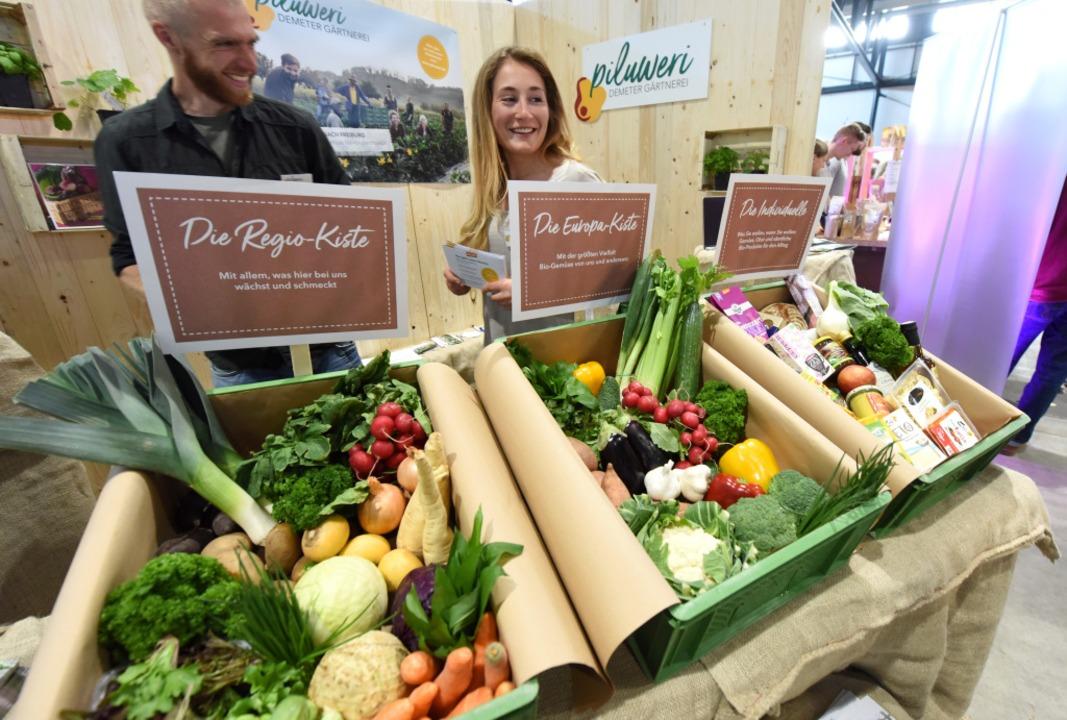 Piluweri-Gemüse von der Demeter-Gärtnerei in Hügelheim  | Foto: Rita Eggstein