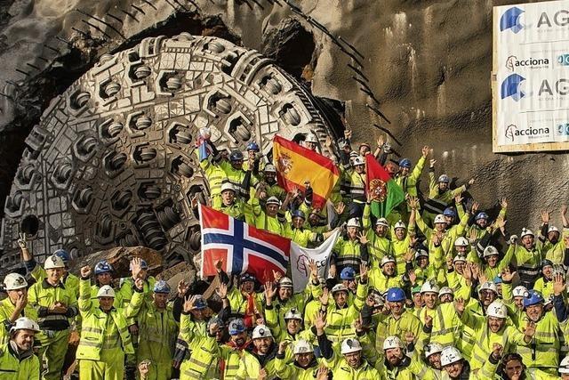 Durchbruch in Norwegen