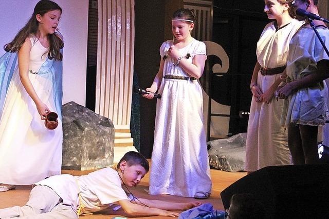 Odysseus bleibt in Schönau Penelope treu