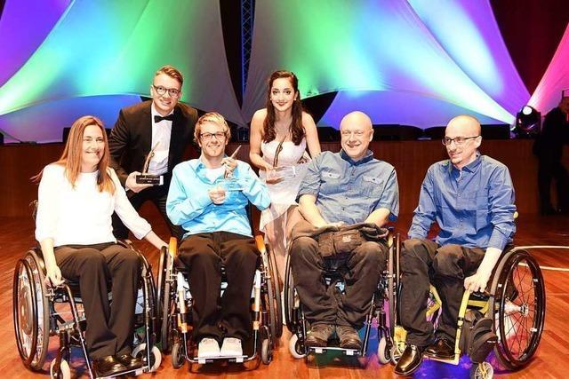 Rollkunstläufer und Rollstuhl-Rugby-Team sind Freiburger Sportler des Jahres