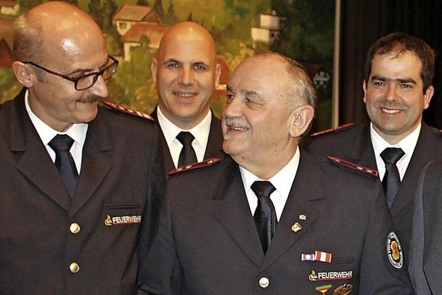 Michael Birlin wird Ehrenkommandant