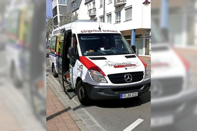 Breisacher Bürgerbus wird von den Fahrgästen gut angenommen