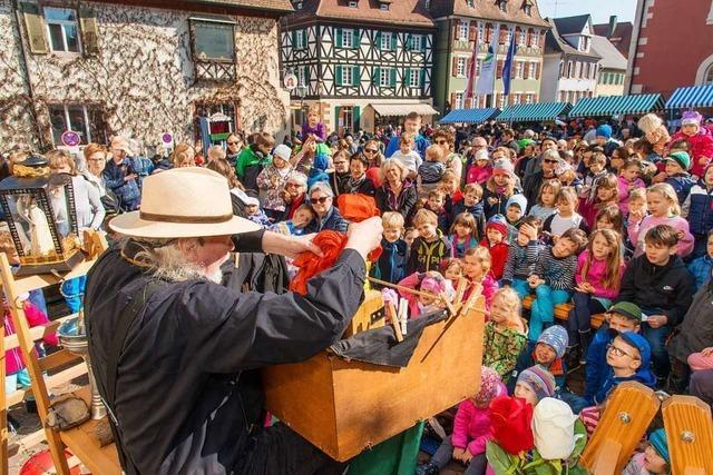 Auftakt der Puppenparade Ortenau in Ettenheim