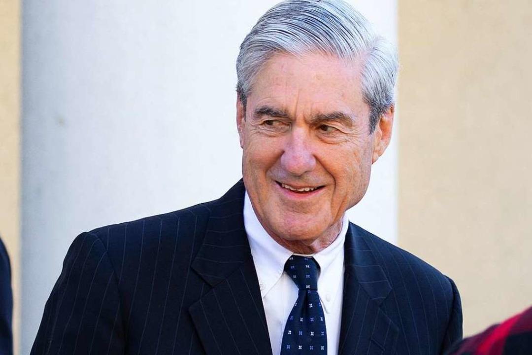 Mueller hatte seinen Bericht am Freita...t nach fast zwei Jahren abgeschlossen.  | Foto: AFP