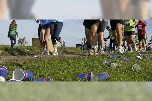 Läufer wollen sich um Umweltschutz bemühen