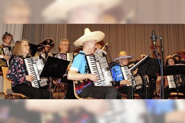 Lateinamerikanische Klänge aus dem Akkordeon