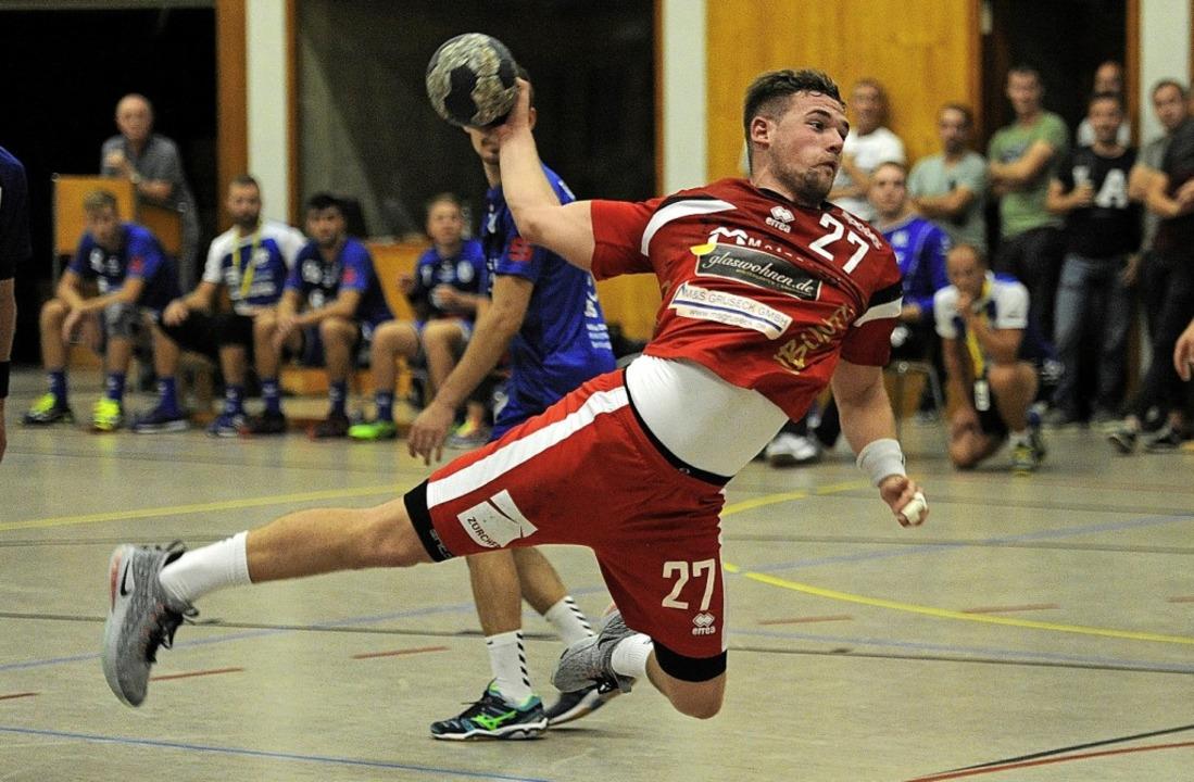 <BZ-FotoAnlauf>HTV Meissenheim:</BZ-FotoAnlauf> Pascal Fleig traf fünfmal.   | Foto: PresseBüro Schaller