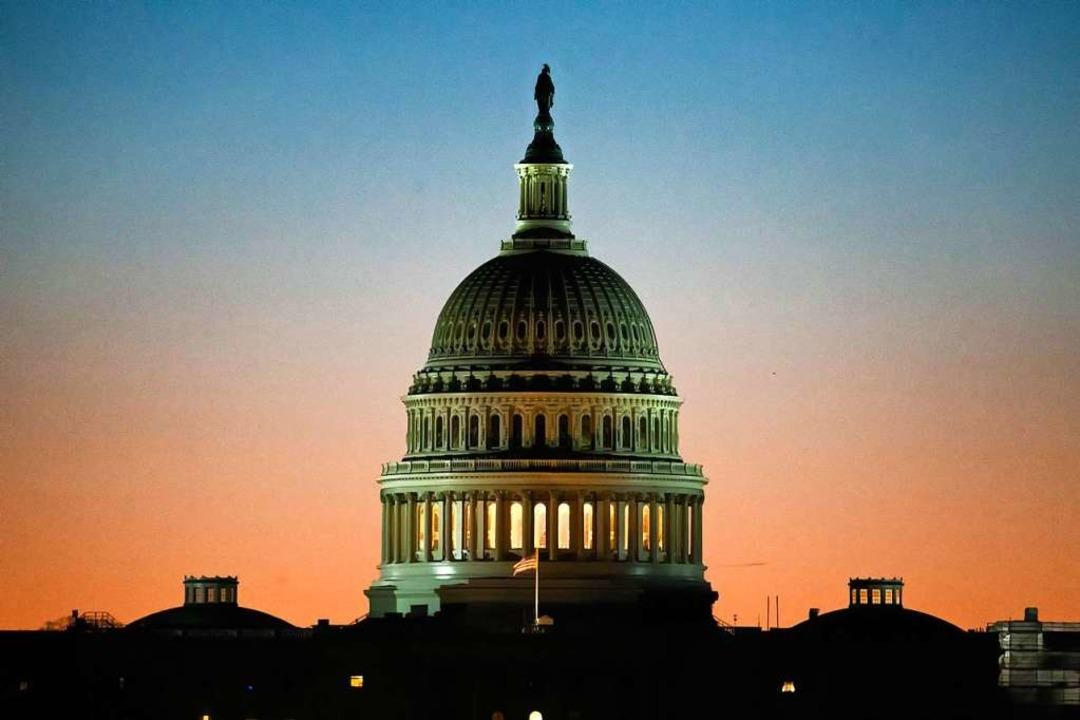 Das Kapitol in Washington    Foto: dpa