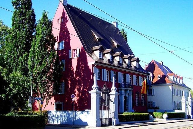 Das Haus der Badischen Heimat trägt wieder die Originalfarbe
