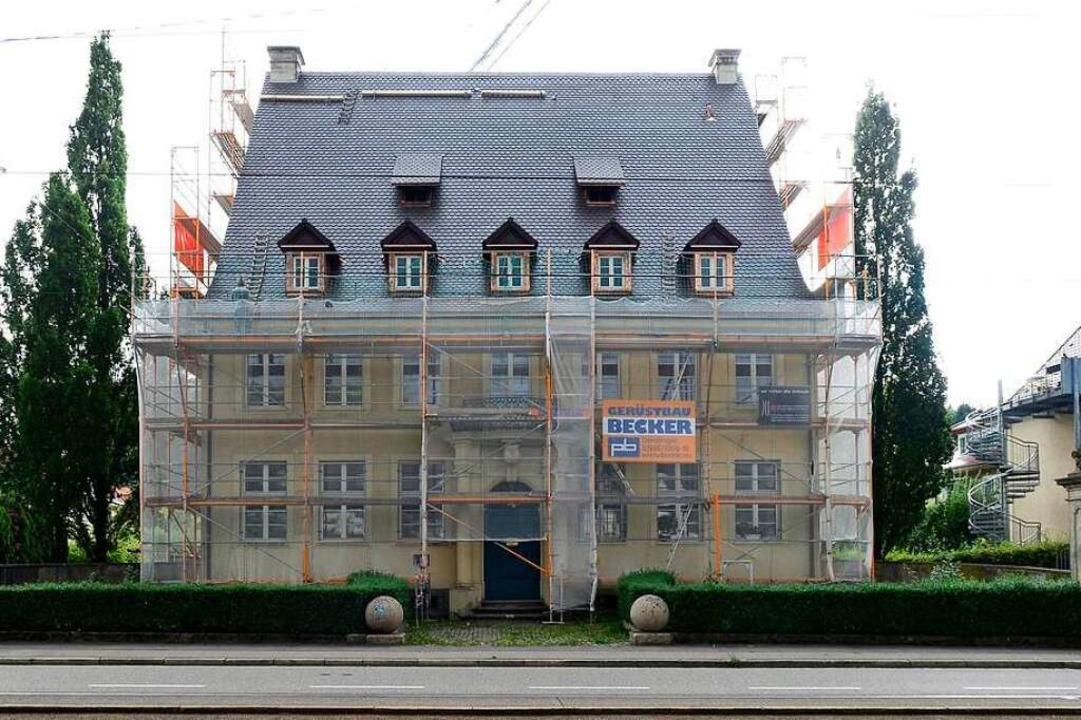 Das Haus der Badischen Heimat während der Renovierungsarbeiten im Jahr 2017.  | Foto: Ingo Schneider