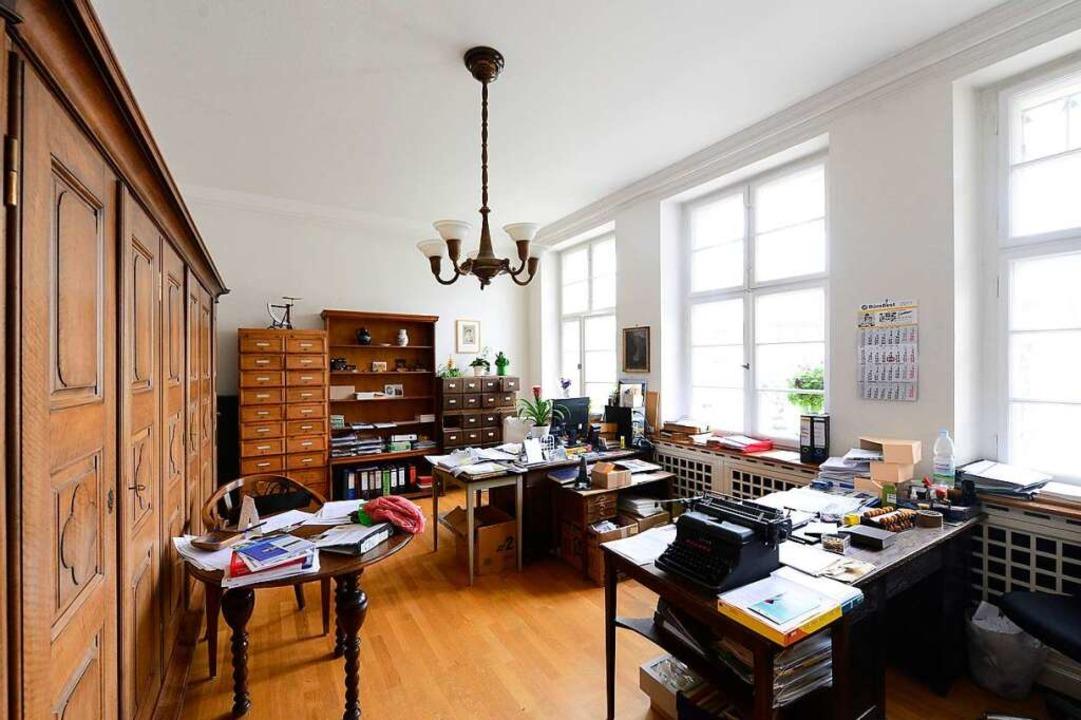Einst Schreibstube, heute Büro  | Foto: Ingo Schneider