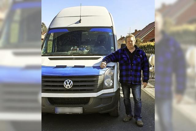 So hat ein Fernfahrer in Schönau drei Einbrecher in die Flucht geschlagen