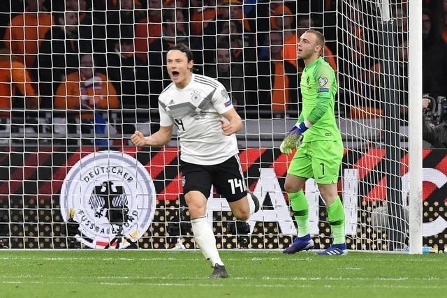 Schulz erlöst DFB-Elf in der Schlussminute