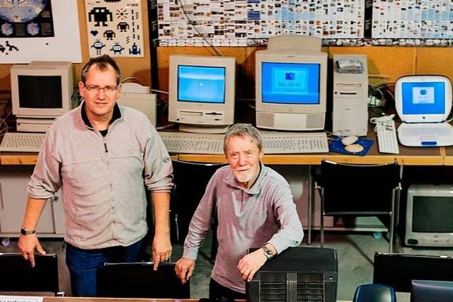 In Pratteln finden hunderte alte Computer ein neues Zuhause