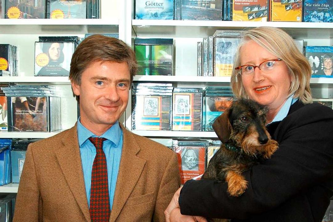Matern von Marschall und Corinna Zimber 2004 (Archiv)  | Foto: Thomas Kunz