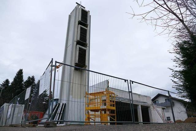 Teilabriss der evangelischen Kirche verstört die Heitersheimer