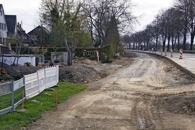 Grundwasserschutz verzögert Bauarbeiten