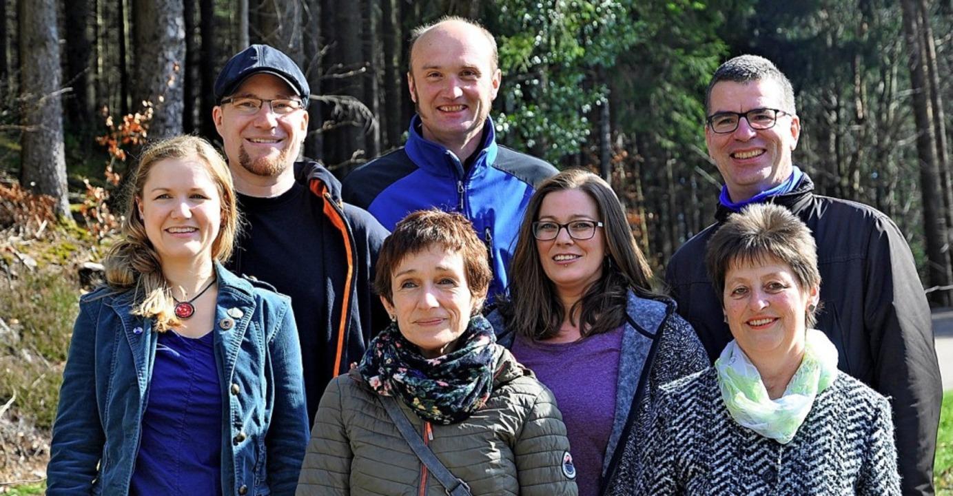 Die Kandidaten der Ökologischen Liste ...r, Holger Stasch und Barbara Schuler.   | Foto: ZVG