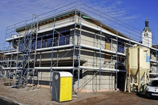 Görwihler Gerätehaus nimmt Form an