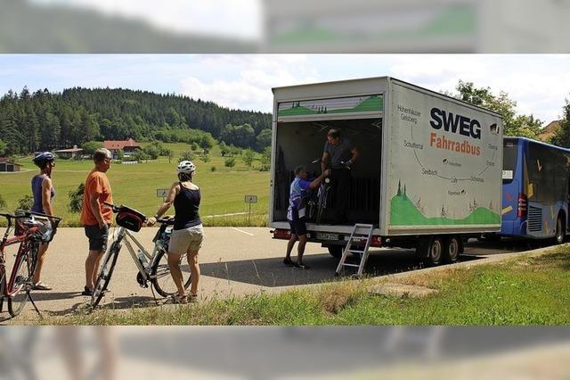 Mit dem Radbus auf den Schwarzwald